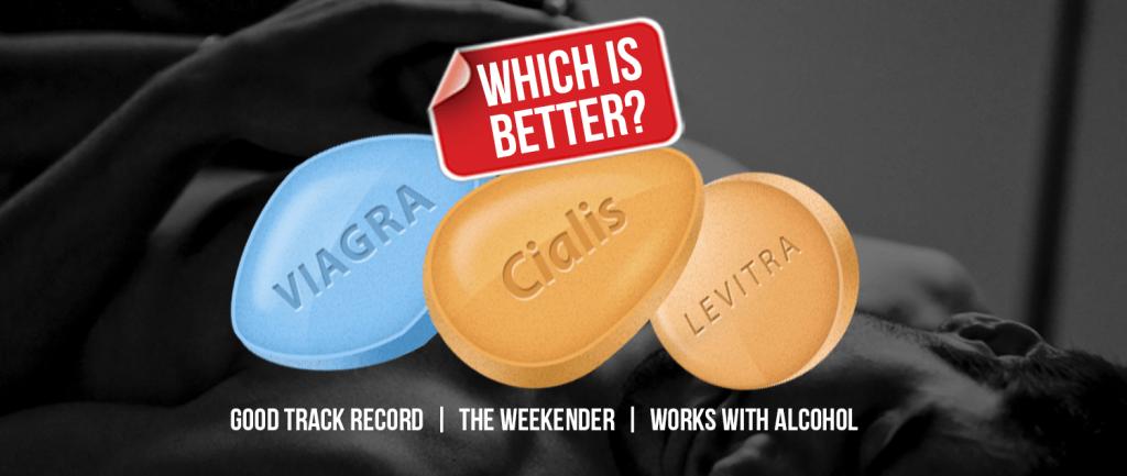 Viagra dosage compared levitra